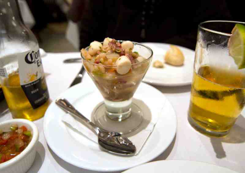 The Spaniard Seafood Ceviche