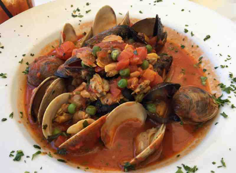 Spazio Mussels and Clams