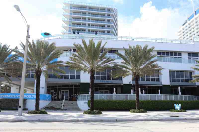The W Hotel Fort Lauderdale Beach