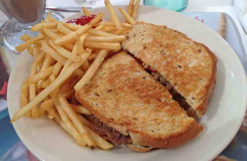Steak n Shake Patty Melt