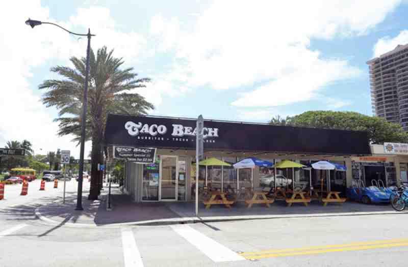 Review Of Taco Beach 33166 Restaurant 2941 E Las Olas Blvd