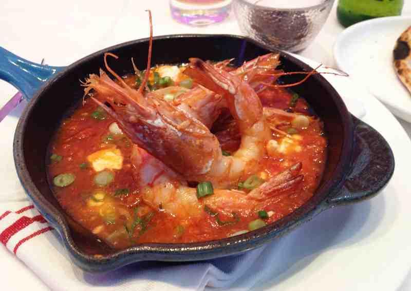 saganaki 5401819232 eb20dc9115 z shrimp saganaki linguine shrimp ...