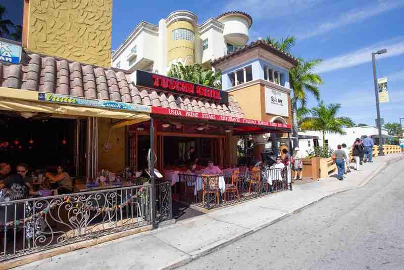 Review Of Luigi S Tuscan Grill 33301 Restaurant 1105 E Las Ol
