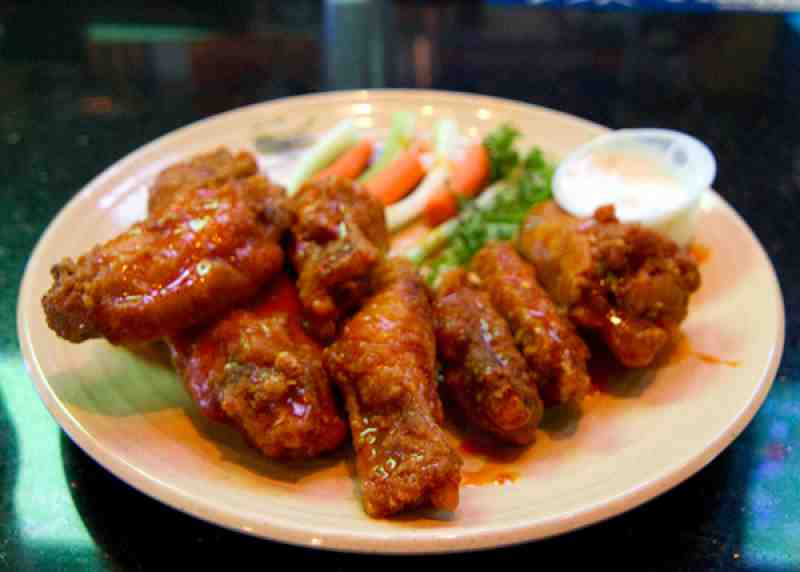 Upperdeck Chicken Wings