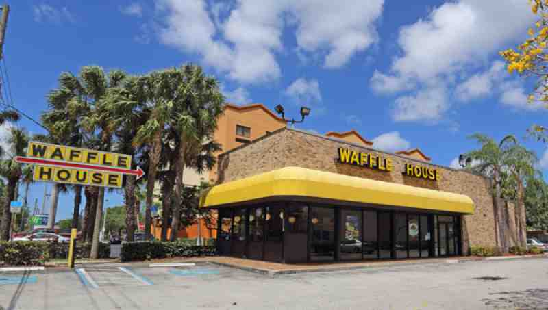 Review Of Waffle House 33317 Restaurant 2580 Davie Rd