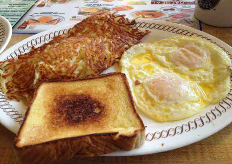 Waffle House Hash Browns All The Way Waffle House Eggs Hash Browns